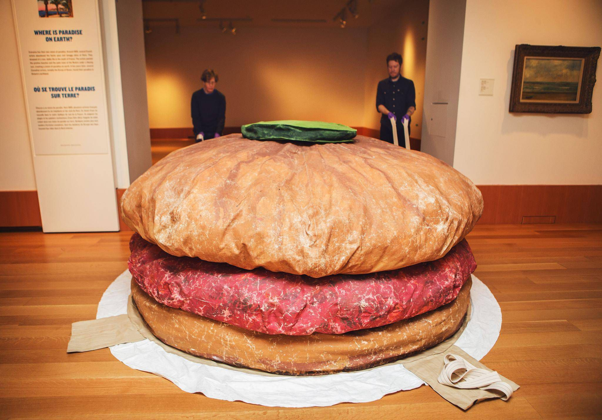 It S A Whopper All Right Floor Burger Returns To The Ago The