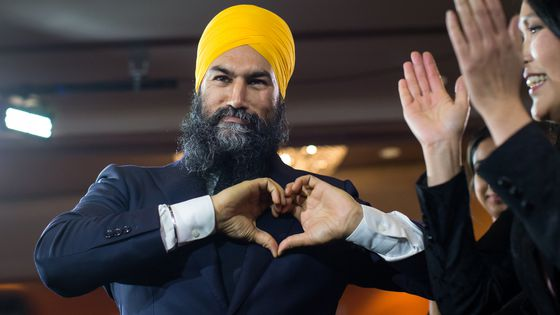 Video: Singh says the NDP will work with Trudeau to deliver on the priorities of Canadians