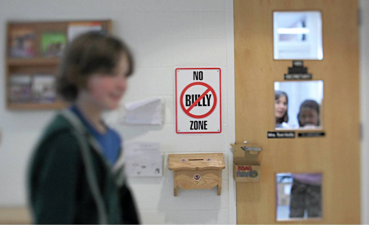 St. Anne Catholic School in Ottawa's west end, has set up an anti-bullying program where students take turns monitoring for bullying during recess and lunch.