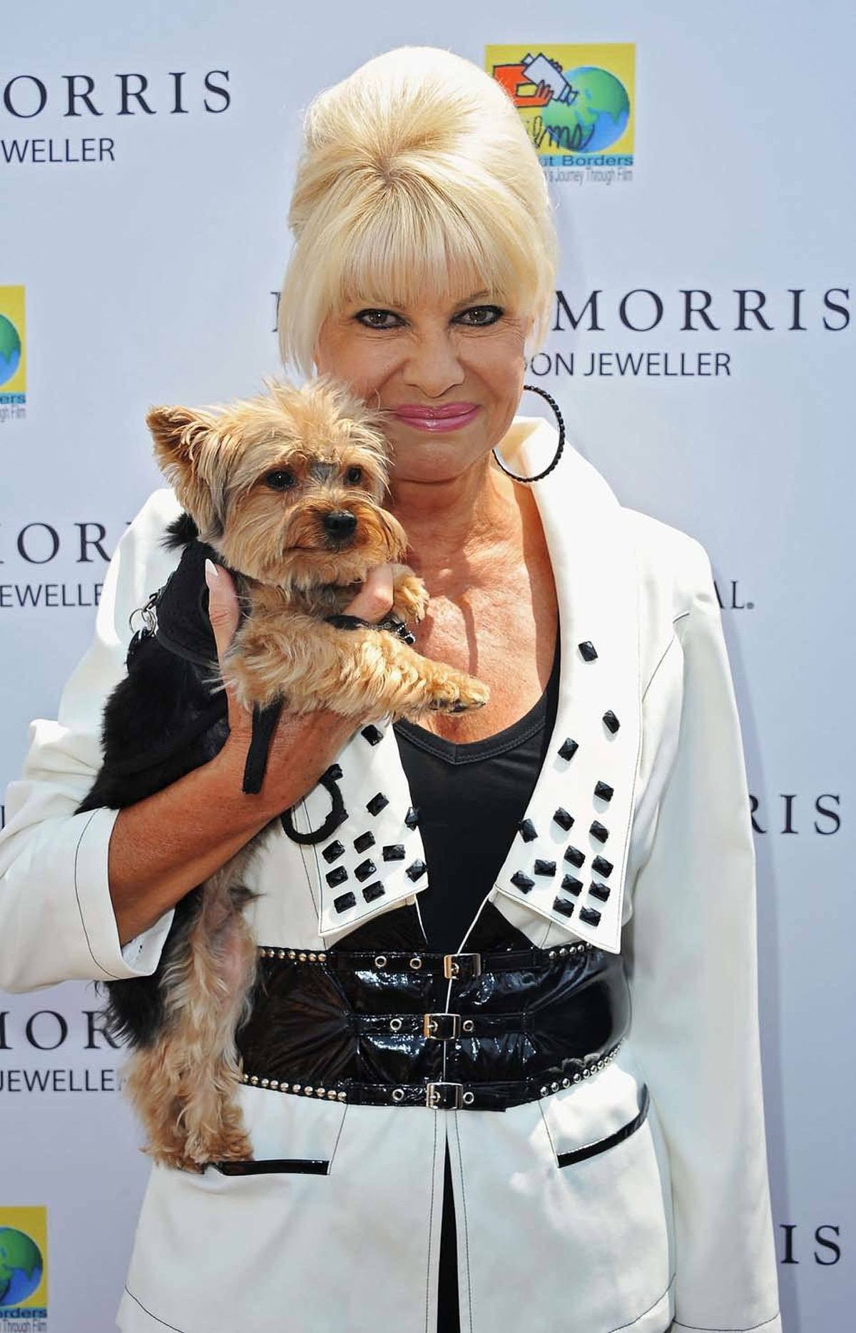 Ivana Trump does not attend amfAR's Cinema Against AIDS Gala at the Cannes Film Festival on Thursday. But she does attend a lunch hosted by a jeweller.
