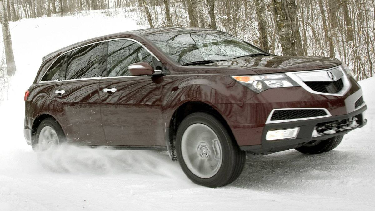 The 2012 MDX, built in Alliston, Ontario.