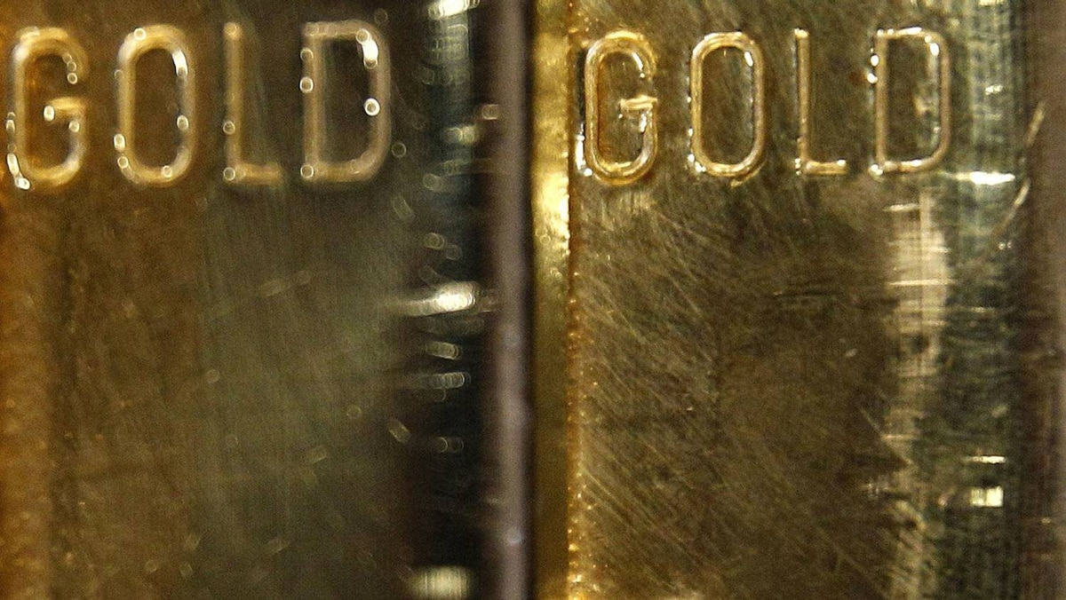 Gold bars are pictured in this file photo.
