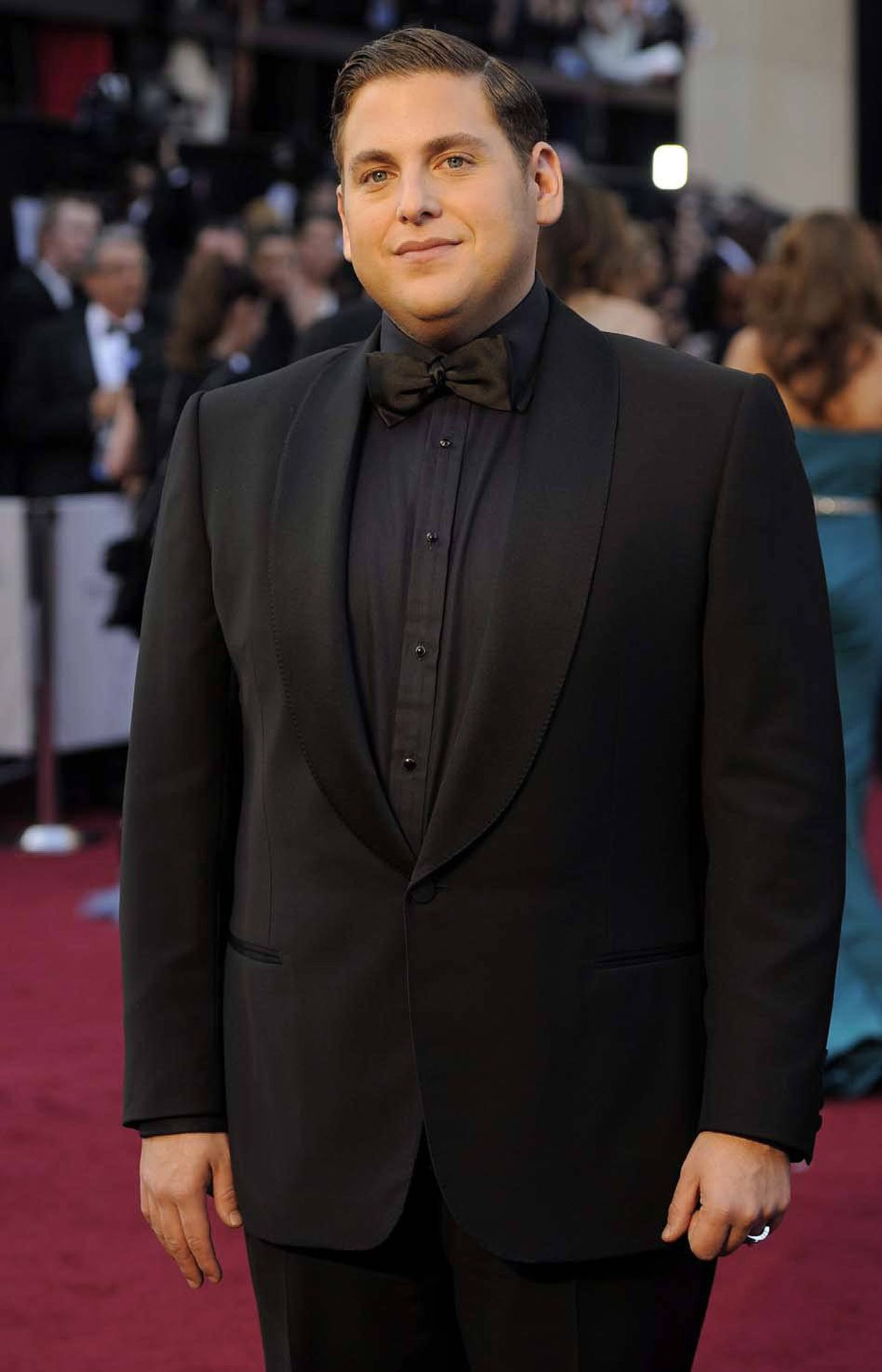Hi, I'm Jonah Hill and I'll be your unctuous maitre d' tonight.
