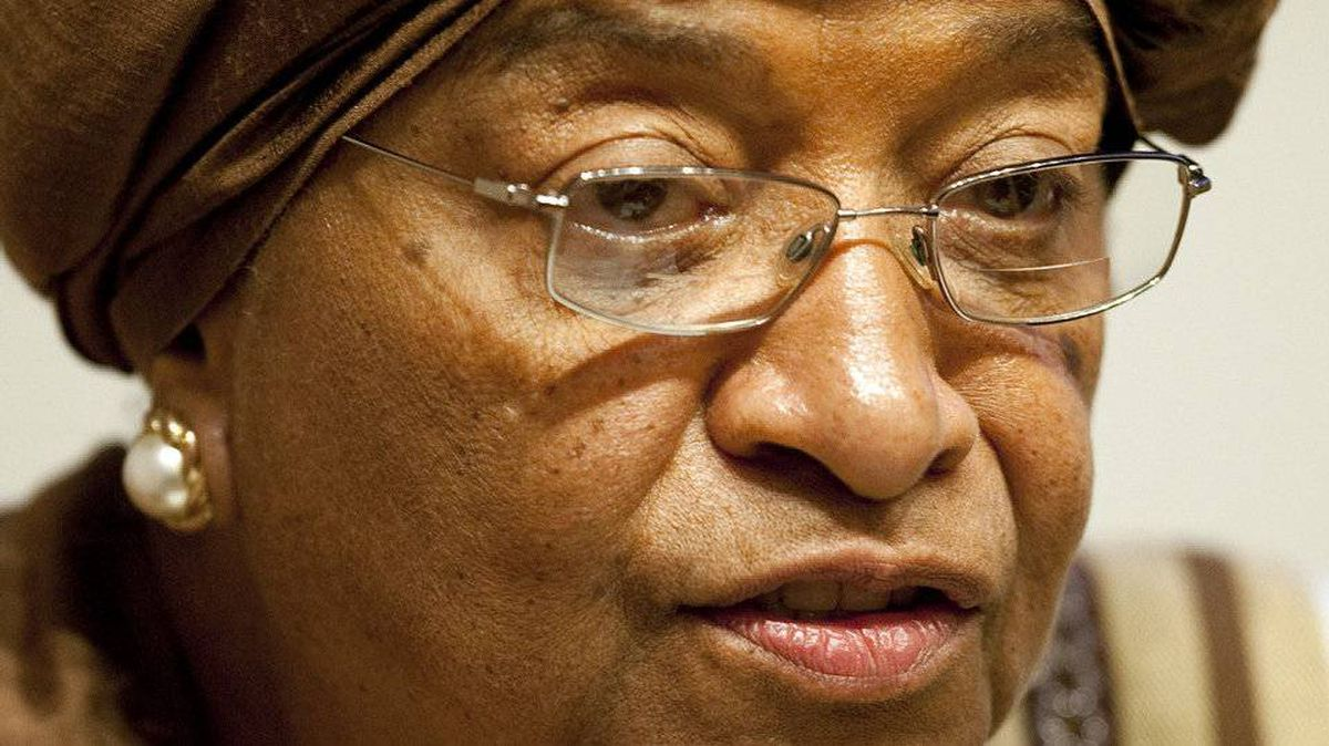 Liberian President Ellen Johnson Sirleaf Sirleaf has been jointly awarded the Nobel Peace prize on October 7, 2011.