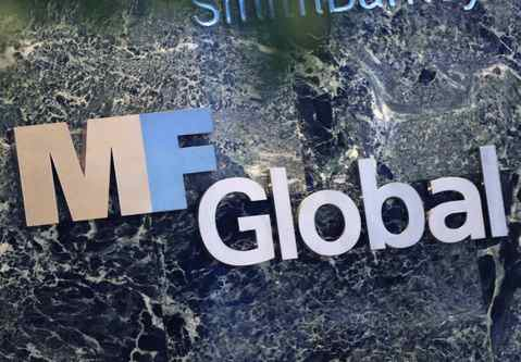 MF Global Holdings signage at its offices in midtown Manhattan, Nov. 1, 2011. MF Global's Canadian unit has about 50 employees, operating out of trading offices in Toronto and Montreal.