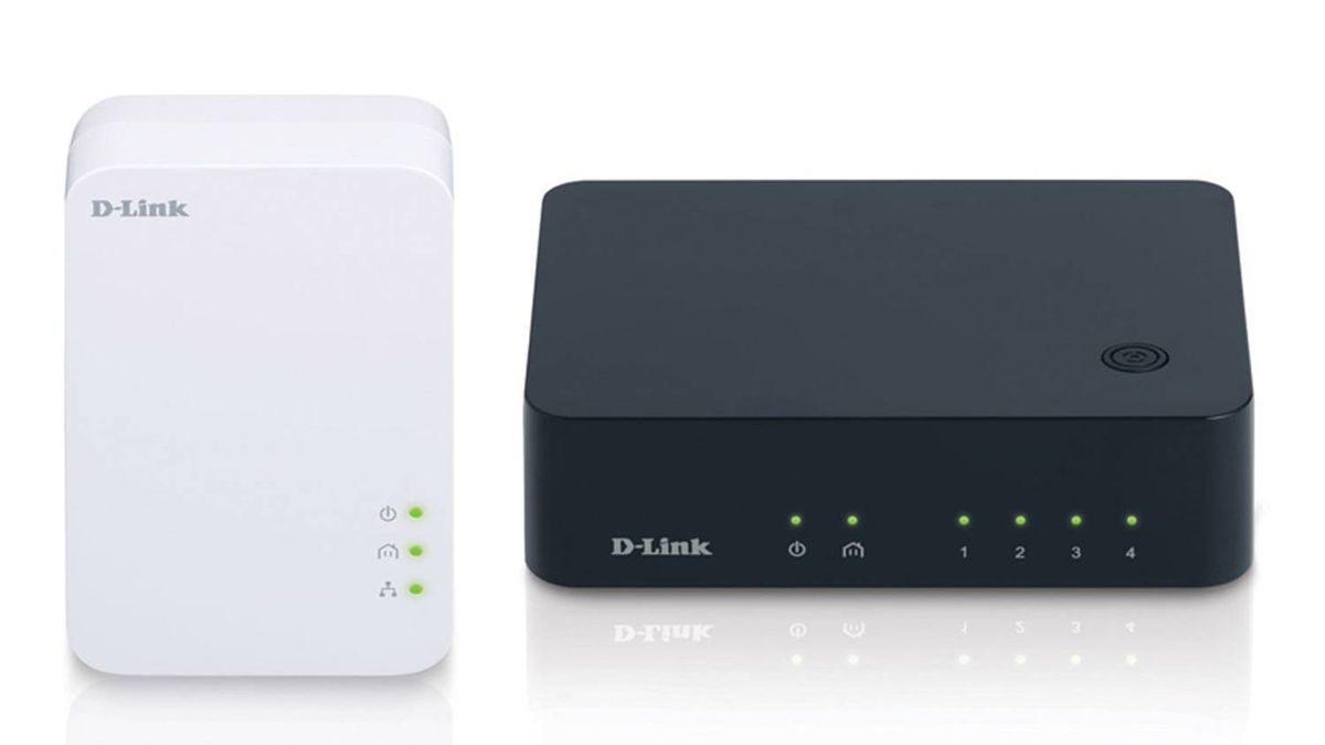 Go for broke from the start. No messing around with anything less than 500 Mbps, like the D-Link PowerLine AV 500 4-Port Gigabit Switch Kit.