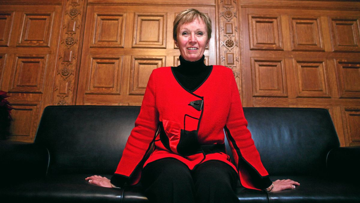 Interim NDP leader Nycole Turmel sits in her office on Parliament Hill.