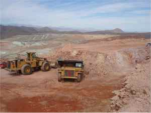 A Teck Resources mine in Chile
