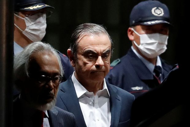 Japanese Court Approves Nissan Ex-chair Ghosn's Release on Bail