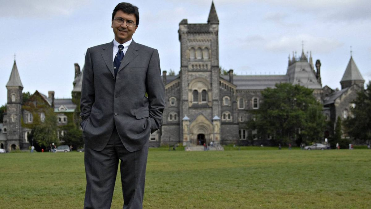 University of Toronto president David Naylor. Philip Cheung for The Globe and Mail