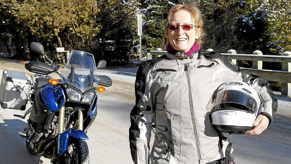 Liz Jansen, 57, operates a tour company with a focus on rides and events exclusively for women.