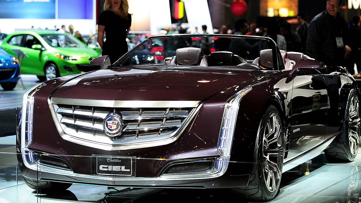 Cadillac Ciel Concept vehicle