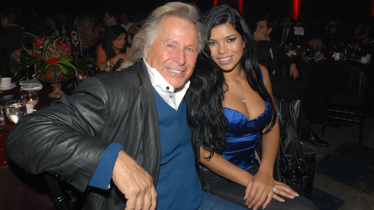 Peter Nygard and Suelyn Medeiros Virgin Unites Midnight Magic Gala Direct Energy Building November 12, 2007