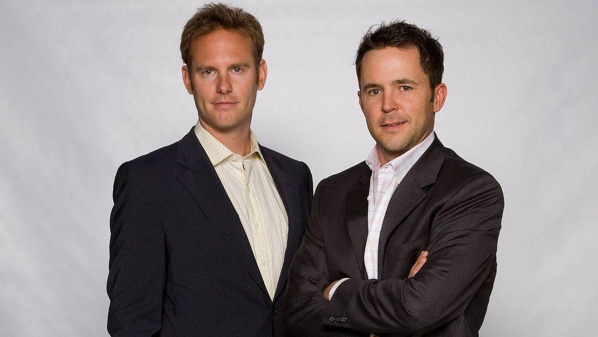 Christian Darbyshire, left, and Andy McCreath, Partners, tinePublic Inc., Calgary.