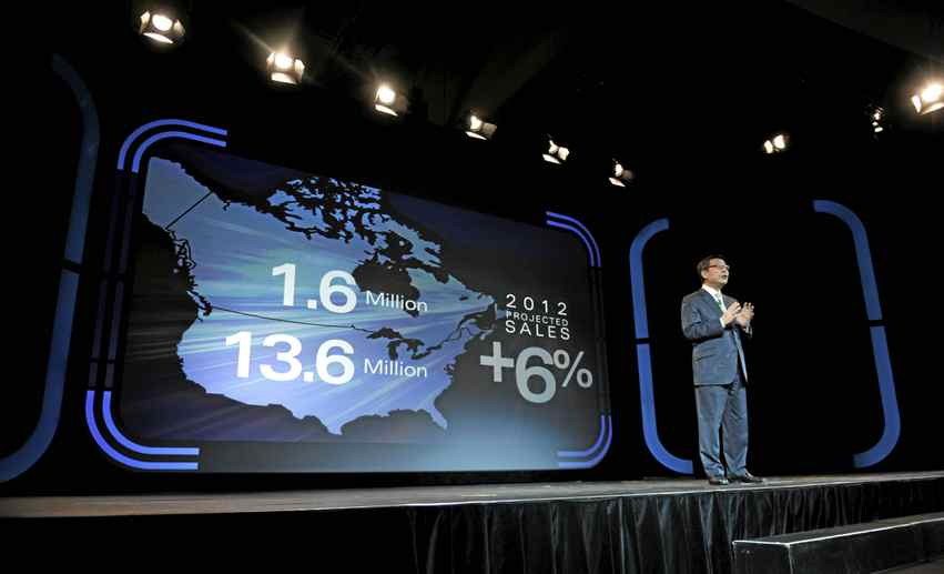 Toyota Motor North America president Yoshimi Inaba says he's open to the possibility of assembling Prius models in Canada. But industry experts believe it's much more likely to happen at a U.S. location.