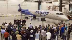 The Bombardier C Series jetliner