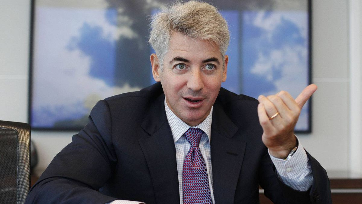 Hedge fund manager William Ackman of Pershing Square Capital Management during an interview in New York, Sept. 27, 2010.
