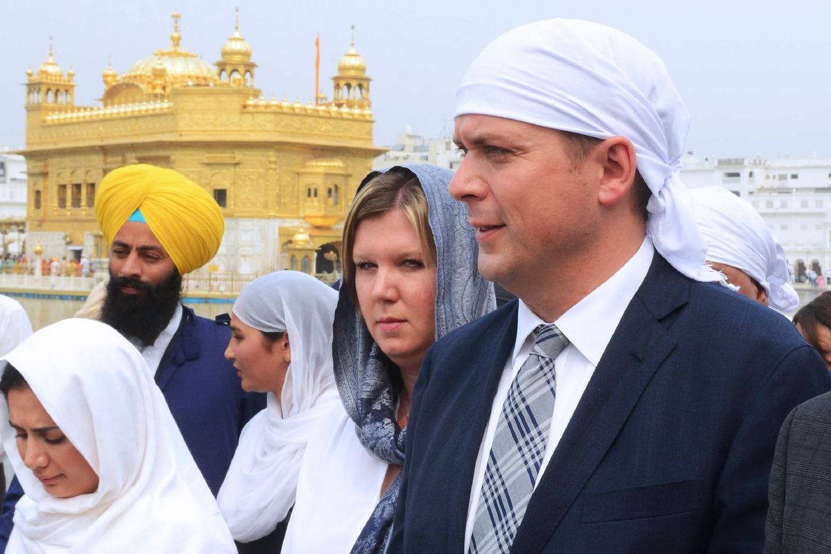Globe editorial: Andrew Scheer just repeated Justin Trudeau's mistakes in India