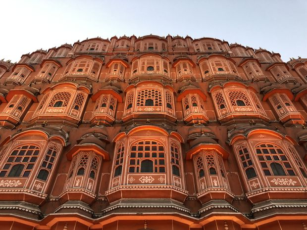 The Hawa Mahal, an 18th-century palace in Jaipur, India, where Gerald Cotten died.