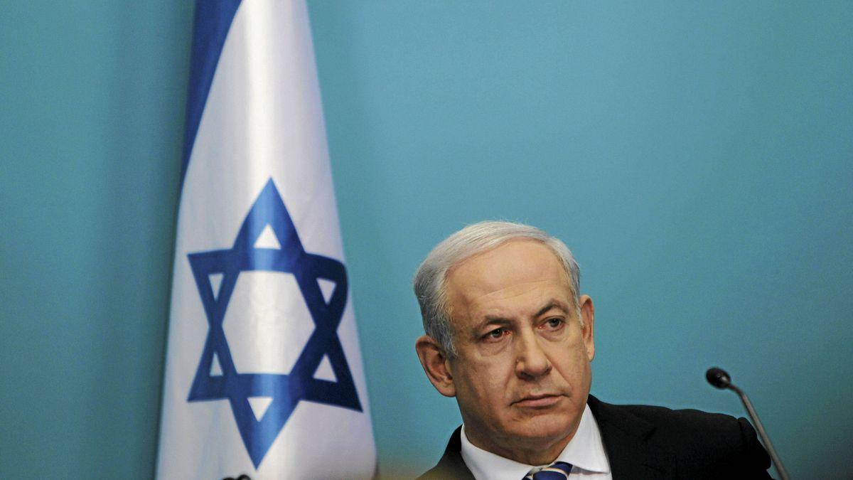 Israel's Prime Minister Benjamin Netanyahu attends a news conference in Jerusalem Feb. 22, 2012.
