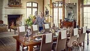 Jill Kantelberg's dining room