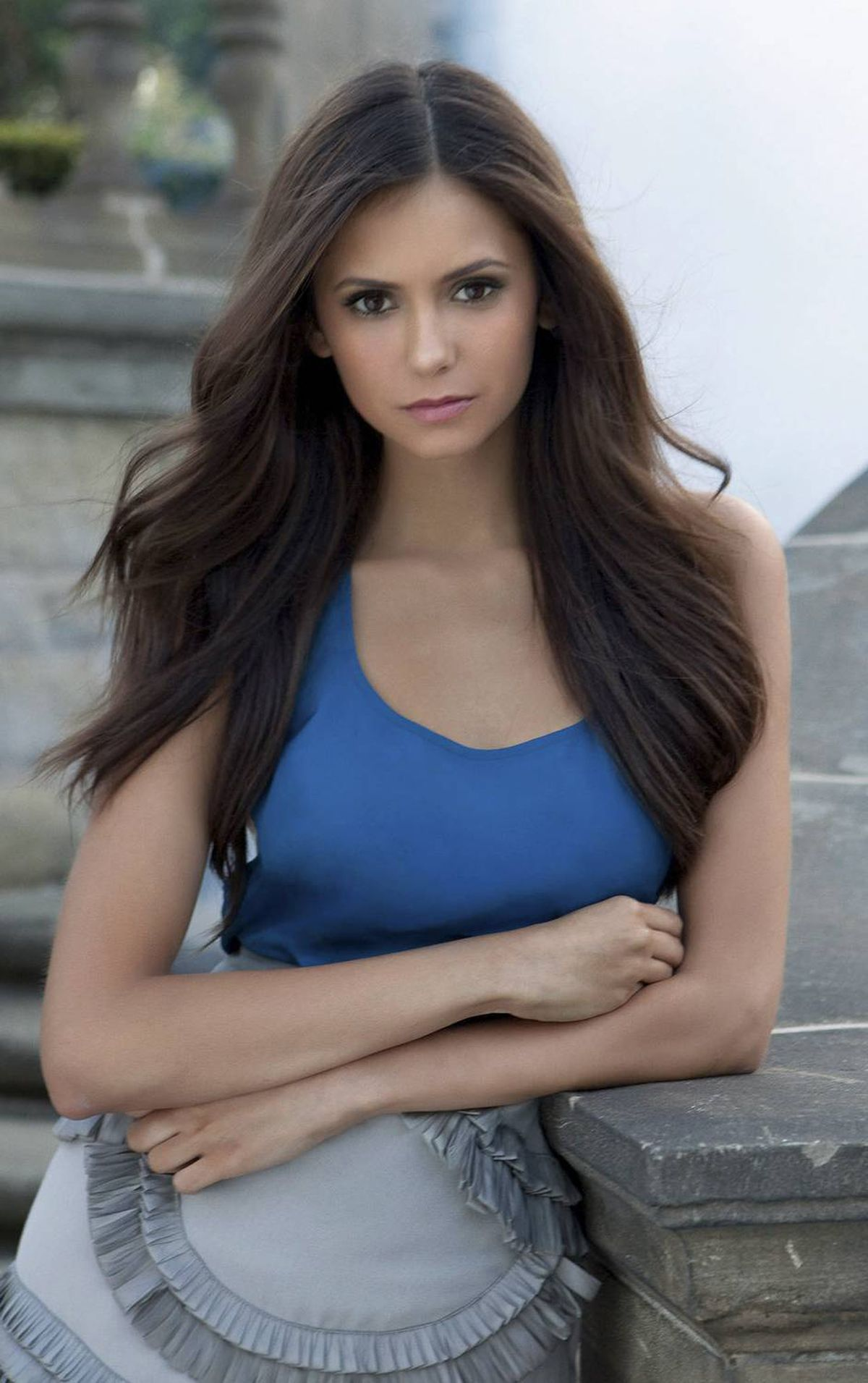 Toronto's Nina Dobrev stars in The Vampire Diaries: 'With a vampire show come the night shoots and the long hours.'