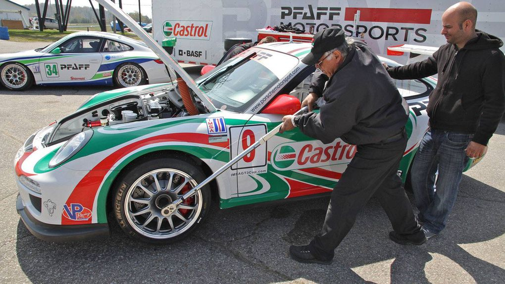 In Pictures Anatomy Of A Porsche Race Car The Globe And Mail