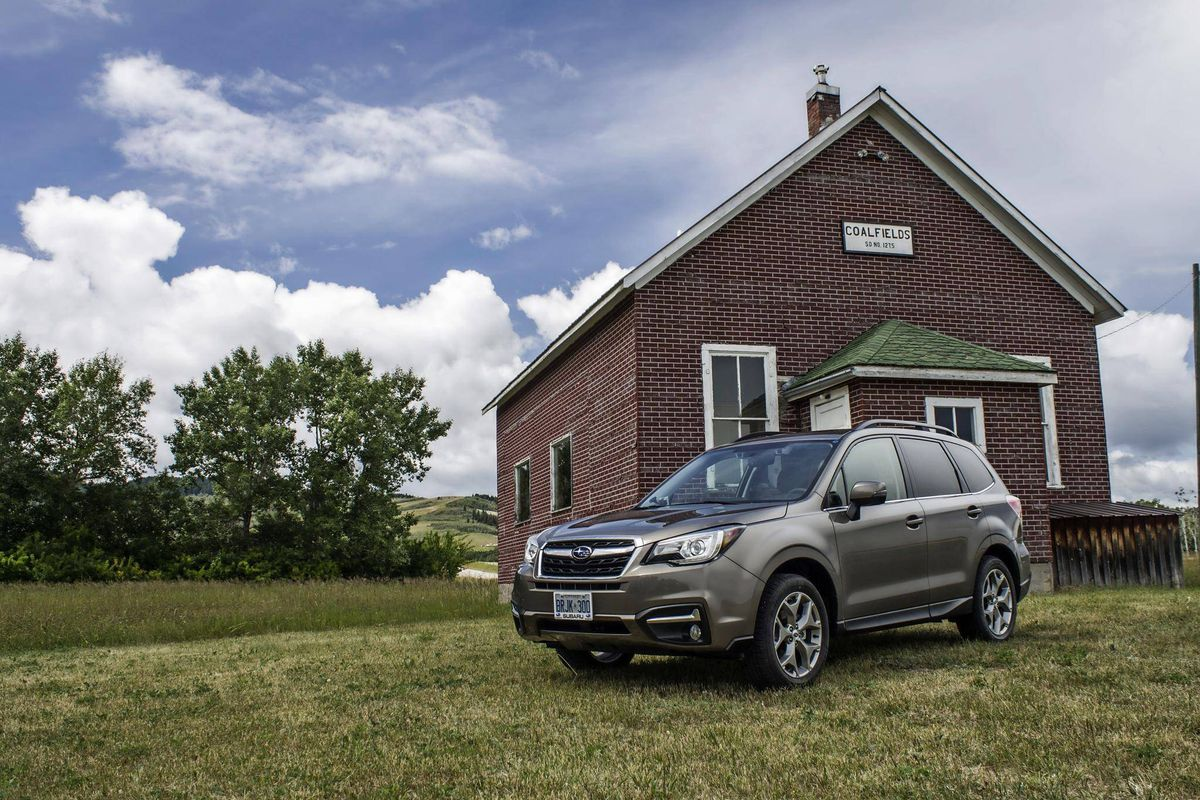 For The Globe And Mail 2017 Subaru Forester