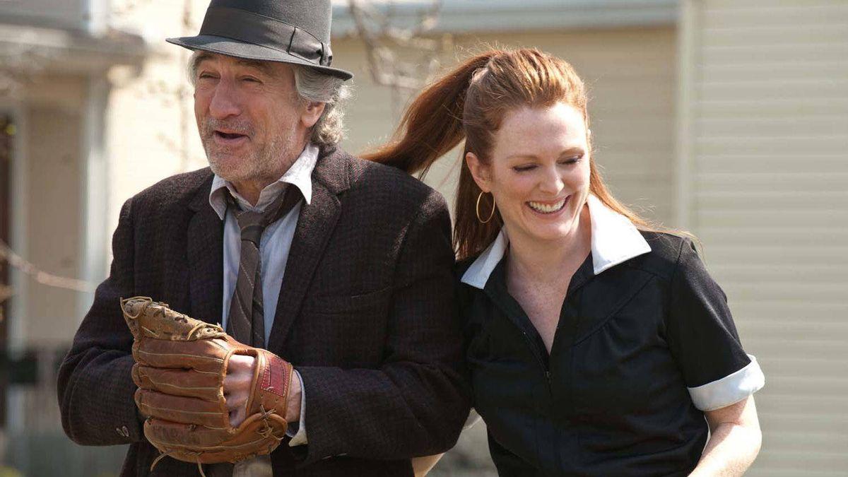 """Robert De Niro and Julianne Moore in a scene from """"Being Flynn"""""""