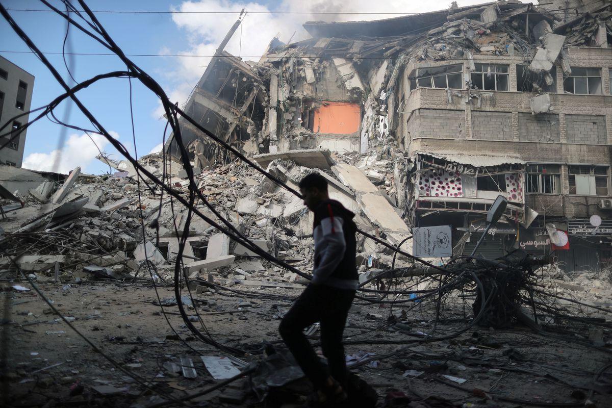 Israeli troops mass at Gaza's border as international concern grows over escalating violence