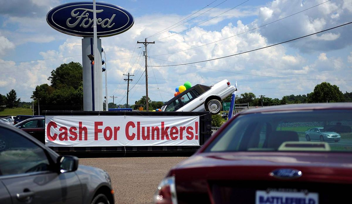 Cash For Clunkers Used Car Market