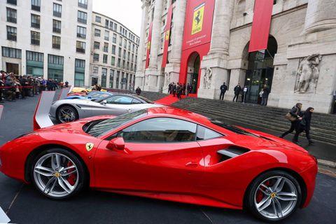 Ferrari, separated from Fiat Chrysler, makes Milan stock market debut