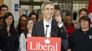 Liberal Leader Michael Ignatieff speaks at Sheridan College in Oakville, Ont., on March 29, 2011.