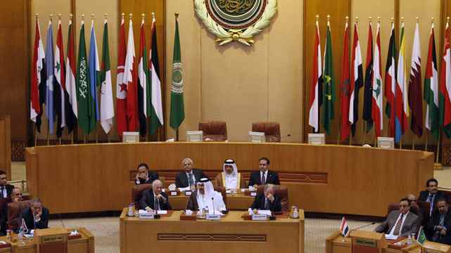 Arab League delegates meet in Cairo on Wednesday to discuss Syria, which accepted the league's peace plan that would withdraw security forces from the streets and begin talks between the government and opposition.