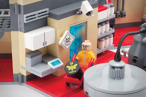 The Breaking Bad meth-lab playset that Lego is very unhappy with
