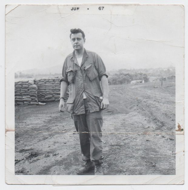 2fbe3ba7f ... Eric Reguly writes of his father, Robert, shown here in South Vietnam in  1967, wearing U.S. Army fatigues he bought shortly after arriving in the ...