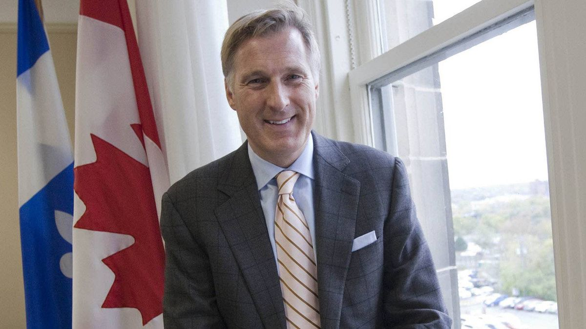 Maxime Bernier, Minister of State for Small Business and Tourism, in his office on Parliament Hill, in Ottawa Oct. 17, 2011.
