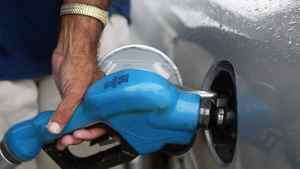 Pumping gas in Miami, Fla.