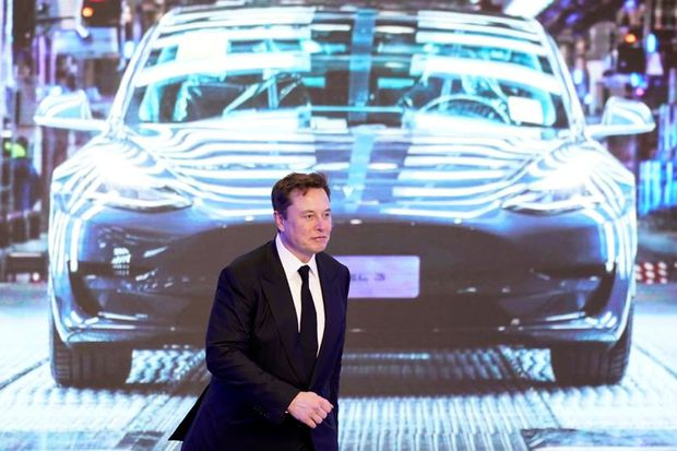 Tesla's Musk nears US$750-million payday ahead of results