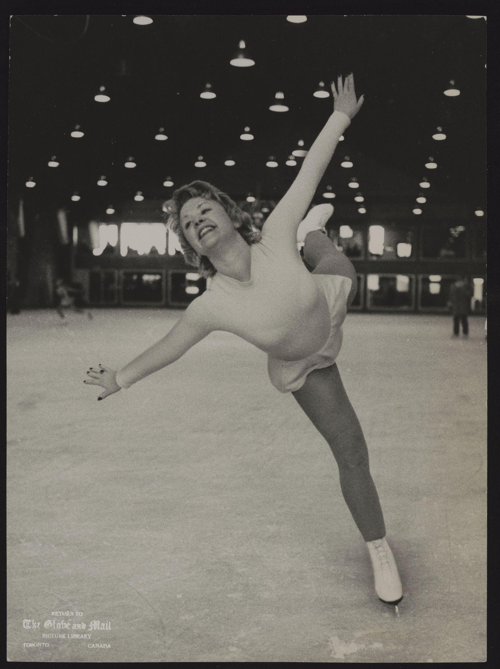 Karen MAGNUSSEN Vancouver. Skater