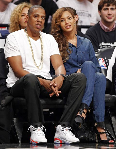What attack? It's business as usual for Jay Z and Beyoncé