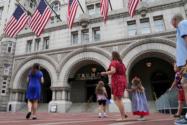 Appeals court rules against Trump in emoluments lawsuit