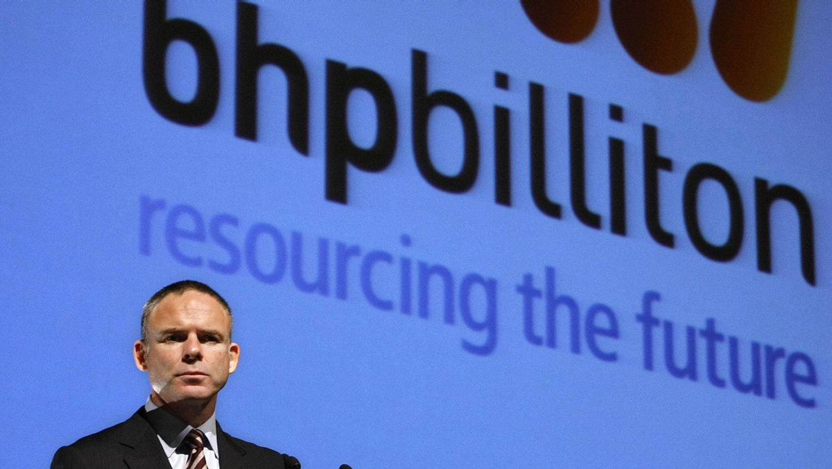 BHP Billiton Chief Executive Marius Kloppers speaks at a luncheon in Melbourne in this June 5, 2008 file picture. Canada blocked BHP's audacious $39-billion bid for Potash Corp and left little room for a modified offer, throwing the spotlight on how the world's largest miner can find new avenues for growth.