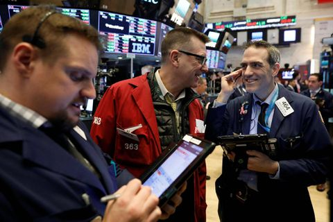 United States  stocks waver amid economic data
