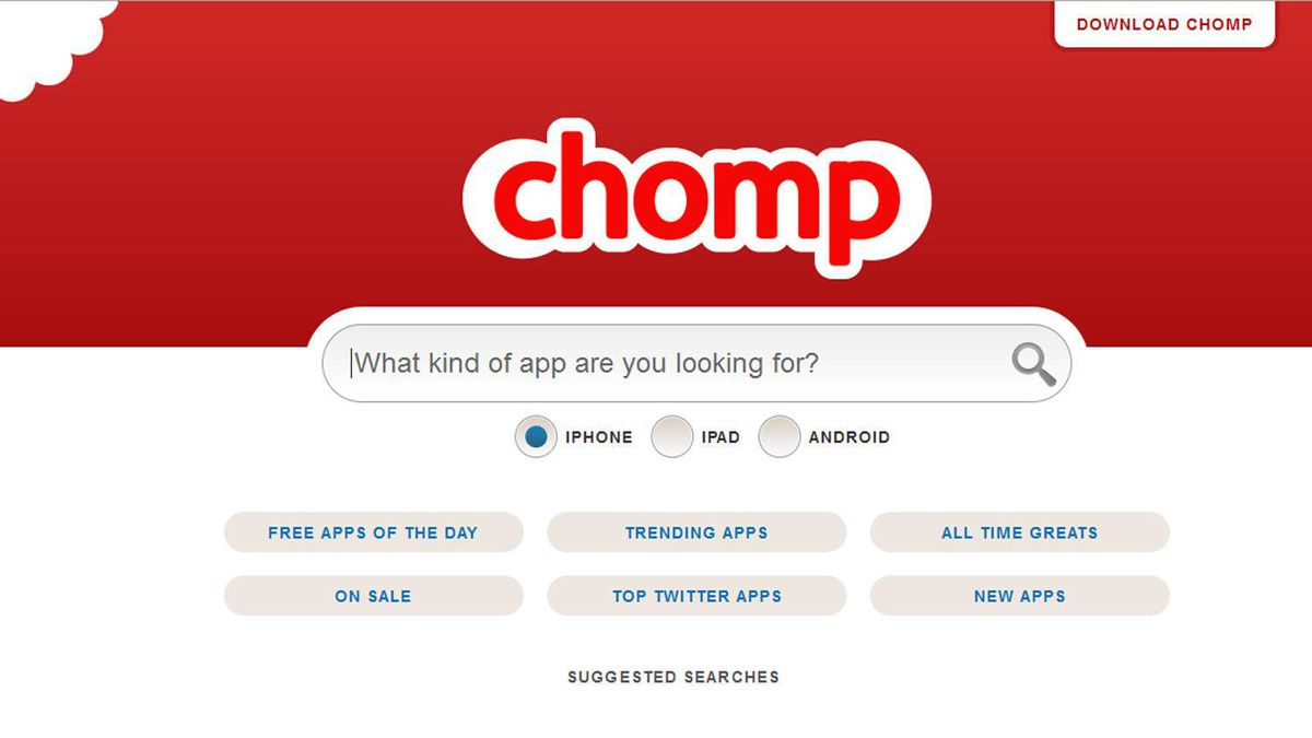 """Chomp groups apps by theme – such as """"live sports"""" – and also provides personalized recommendations. Its algorithm learns what apps do, rather than just using their names, to allow easier browsing. Apple already has its own personalization technology, Genius, but the acquisition of Chomp has been seen as an admission that it needed improvement."""