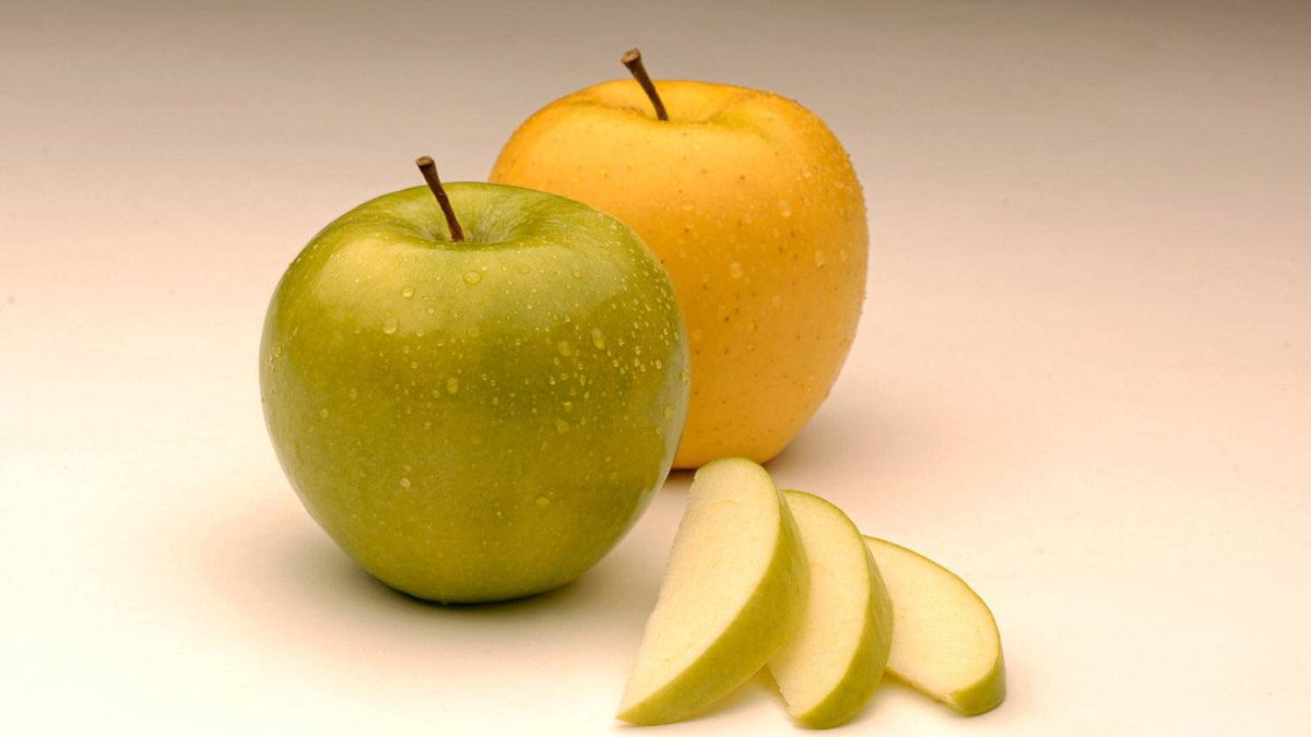 The Arctic Apple, a GMO fruit that has a trait preventing the fruit from browning when cut.