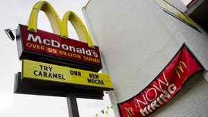 A McDonald's outlet in Washington, DC.
