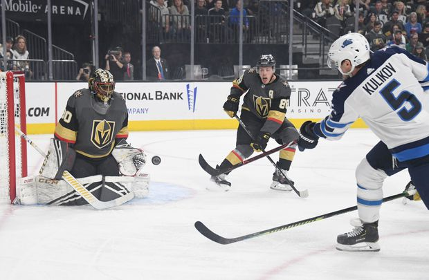 Jets Stymied By Malcolm Subban And The Golden Knights Lose 5 0