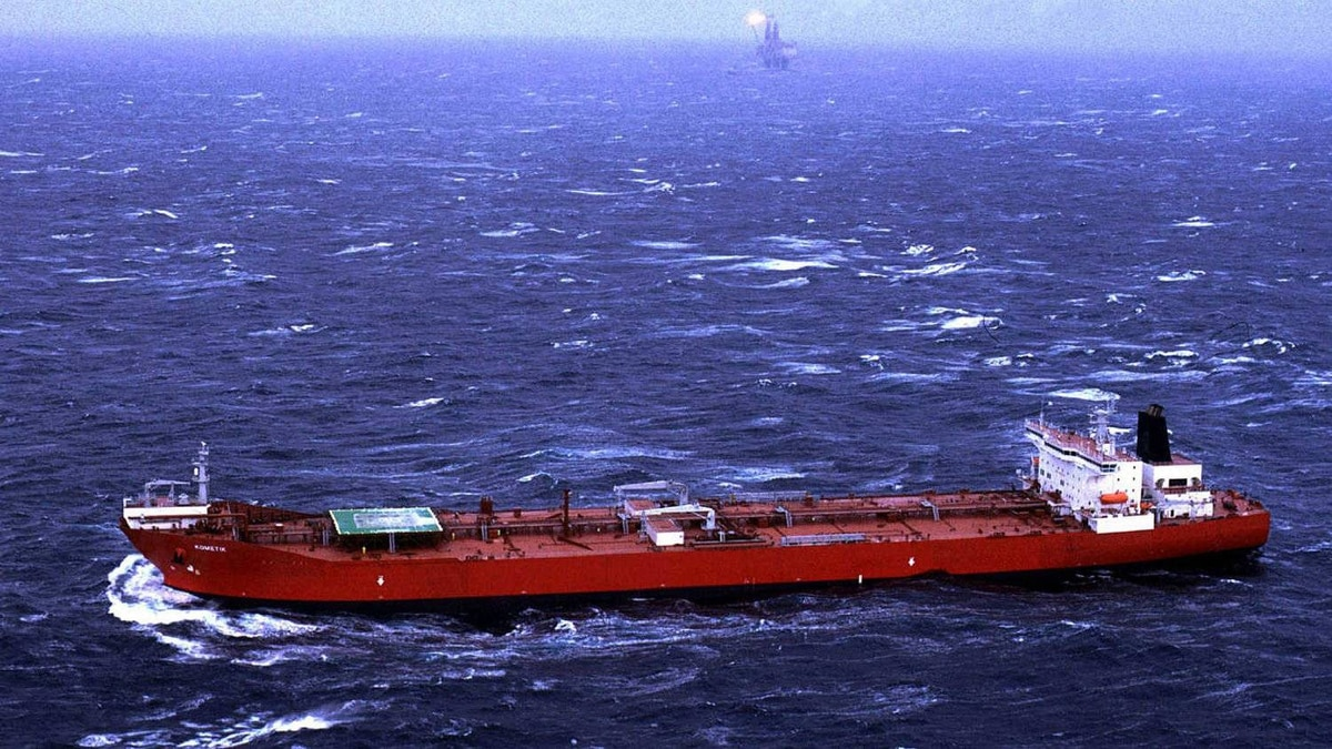 The super tanker Kometik: In a matter of days last week, Saudi Arabia hired the largest number of super tankers it has assembled in years.