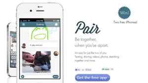 Screenshot of the Pair app, created by a Y Combinator start-up with links to Waterloo's Communitech Hub.